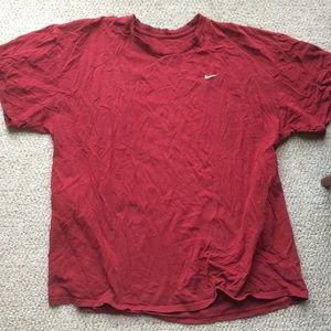 Nike men's XXL red T-shirt